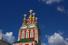 W Moskwa Novodevichy Klasztor Zdjęcie Stock