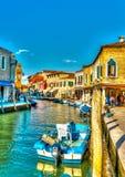 W Murano Włochy Zdjęcia Royalty Free