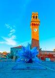 W Murano Włochy Zdjęcie Stock