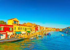 W Murano wyspie blisko Wenecja w Włochy Fotografia Stock