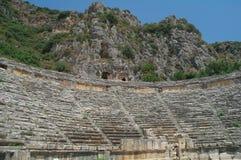 W Myra antyczny amfiteatr, obraz stock