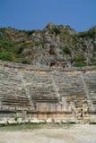 W Myra antyczny amfiteatr, zdjęcia royalty free