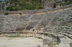 W Myra antyczny amfiteatr, obraz royalty free