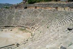 W Myra antyczny amfiteatr, fotografia stock