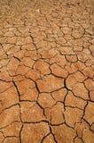 W Namib pustyni wysuszony jezioro Obrazy Royalty Free