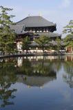 W Nara Todai-ji świątynia Fotografia Royalty Free