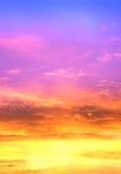 w niebo Zdjęcie Stock
