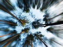 W niebo ruchu abstrakcję Zdjęcie Stock