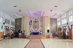W nowożytnym kościół rzymsko-katolicki obrazy stock