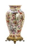 W nowożytnym stylu porcelana antykwarski słój. fotografia stock