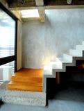 W nowożytnym stylu betonowy projekt Obrazy Stock
