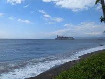 W oceanie Zdjęcie Stock