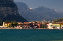 Włoch gardy jeziora torbole Fotografia Stock