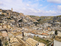 Włoch Matera basilicata Fotografia Royalty Free