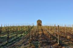 Włochy agricolture kamienia buda Obraz Stock
