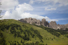 Włochy, Altowy Adige, dolomit Fotografia Royalty Free