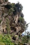 Włochy, Campania, Praiano, Agerola Sentiero degli Dei Zdjęcie Royalty Free
