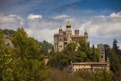 Włochy, Emilia Romagna wioska Obraz Royalty Free
