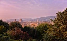 Włochy Florencja katedralny Del Fiore Maria Santa Obraz Royalty Free
