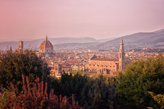 Włochy Florencja katedralny Del Fiore Maria Santa Fotografia Stock