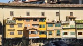 Włochy, Florencja, Ponte Vecchio obraz royalty free