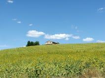 Włochy krajobraz obraz stock