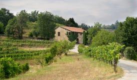 Włochy kraju strona Zdjęcie Royalty Free