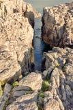 Włochy los angeles Conca, San Pietro s wyspa - Fotografia Royalty Free