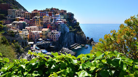 Włochy Manarola Cinque terre Liguria Obrazy Stock