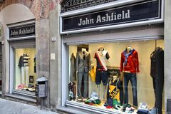 Włochy mody zakupy Zdjęcie Royalty Free