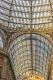 Włochy, Naples, 02,01,2018 Umberto galeria Zdjęcia Stock