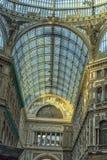 Włochy, Naples, 02,01,2018 Umberto galeria Obrazy Royalty Free