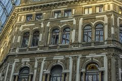 Włochy, Naples, 02,01,2018 Umberto galeria Obraz Royalty Free