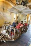 Włochy o temacie teren - Europa park w rdzy, Niemcy Zdjęcie Royalty Free