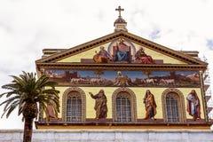 Włochy, Rome, San Paolo fuori le Mura Fotografia Royalty Free
