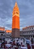 włochy s square oceny st Wenecji Zdjęcie Royalty Free
