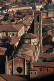 Włochy Stary Bologna, bazylika Santo Stefano Zdjęcie Stock