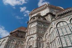 Włochy, Toscana, Florencja katedralny Del Fiore Maria Santa Zdjęcia Stock