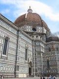14 06 2017, Włochy, Toscana, Florencja: Piazza Del Duomo i Cathe Obrazy Stock