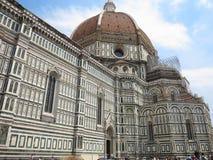 14 06 2017, Włochy, Toscana, Florencja: Piazza Del Duomo i Cathe Zdjęcie Stock