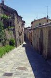 Włochy, Toskanka, antyczna wioska Fotografia Stock