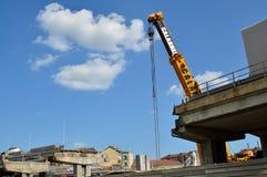 włochy Turin Rozbiórka wiadukt Corso Grosseto Zdjęcia Royalty Free