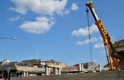 włochy Turin Rozbiórka wiadukt Corso Grosseto Obraz Stock