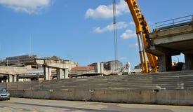 włochy Turin Rozbiórka wiadukt Corso Grosseto Zdjęcie Stock