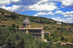 Włochy, Tuscany, Cortona Zdjęcia Royalty Free