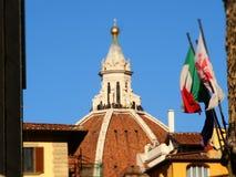 Włochy, Tuscany, Florencja Uffizi kwadrat i budynku muzeum, Obrazy Royalty Free