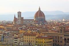 Włochy Vuew Ponte Vecchio w Florencja Fotografia Stock