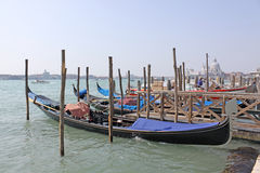 włochy Wenecji gondole Zdjęcie Stock