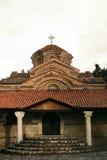 W Ohrid stary kościół zdjęcie stock