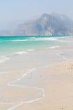 w Oman języka arabskiego morzu Obraz Royalty Free